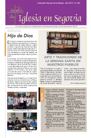 Revista Diocesana. Abril 2019